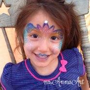 Cute little flower fairy.