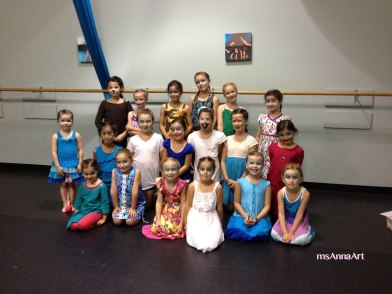 This is 1/2 of the dancers Ms Anna painted in 1.5 hours before their double header summer camp performance of FROZEN at https://www.facebook.com/pages/Dance-and-Music-Academy/181964811814022